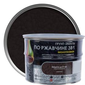 Грунт эмаль по ржавчине 3 в 1 молотковая Dali Special цвет коричневый 2.5 кг