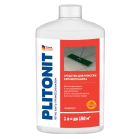 Средство для очистки керамогранита Plitonit, 1 л