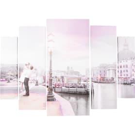 Модульная картина «Встреча» 80х115 см