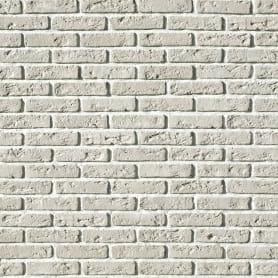 Камень искусственный Monte Alba Эллин Брик белый 1.1 м²