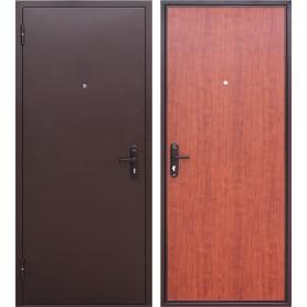 Дверь входная металлическая Стройгост 5, 860 мм, левая, цвет рустикальный дуб