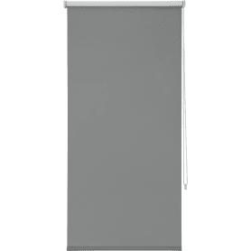 Штора рулонная Inspire Blackout, 80x160 см, цвет серый