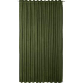 Штора на ленте со скрытыми петлями Манчестер Forest, 200x280 см, цвет тёмно-зелёный