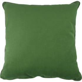 Подушка Грид 45x45 см зелёная