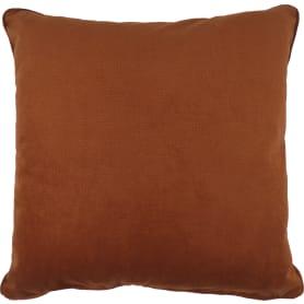 Подушка Грид 45x45 см коричневая