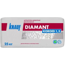 Штукатурка декоративная Knauf Диамант короед 1.5 мм 25 кг