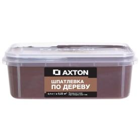 Шпатлёвка Axton для дерева 0,4 кг эспрессо