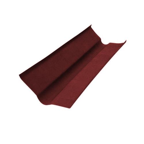 Ендова Ондулин цвет красный