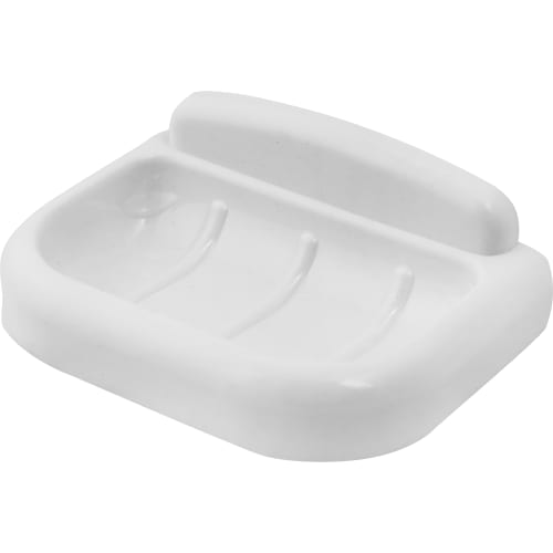 мыльница подвесная Prime пластик цвет белый