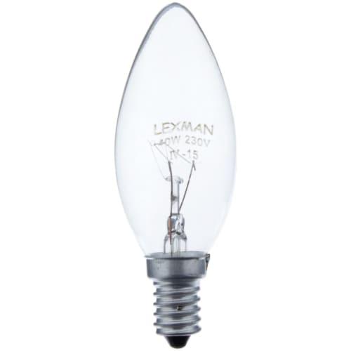 0f24ecad7 Лампа накаливания Lexman свеча E14 40 Вт свет тёплый белый в Красноярске –  купить по низкой цене в интернет-магазине Леруа Мерлен