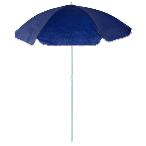 456e721fee658 Зонт пляжный 2 м синий, металл/полиэстер в Москве – купить по низкой цене в  интернет-магазине Леруа Мерлен