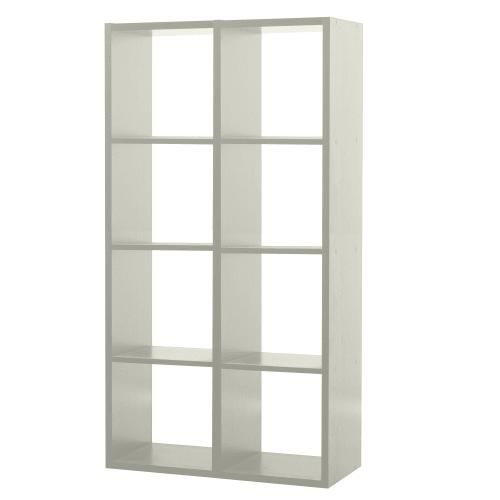 стеллаж 8 секций 70x137x31 см лдсп цвет белый