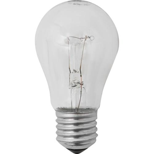 Лампа накаливания «Стандарт», E27, 40 Вт, свет тёплый белый, прозрачная колба