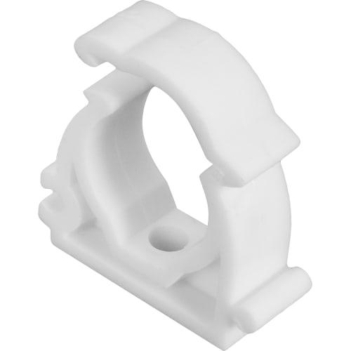 Опора для труб одинарная с защёлкой, 20 мм, полипропилен