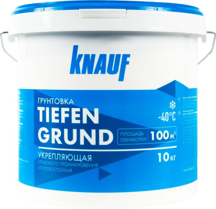 Грунт Knauf Тифенгрунд белый 10 кг