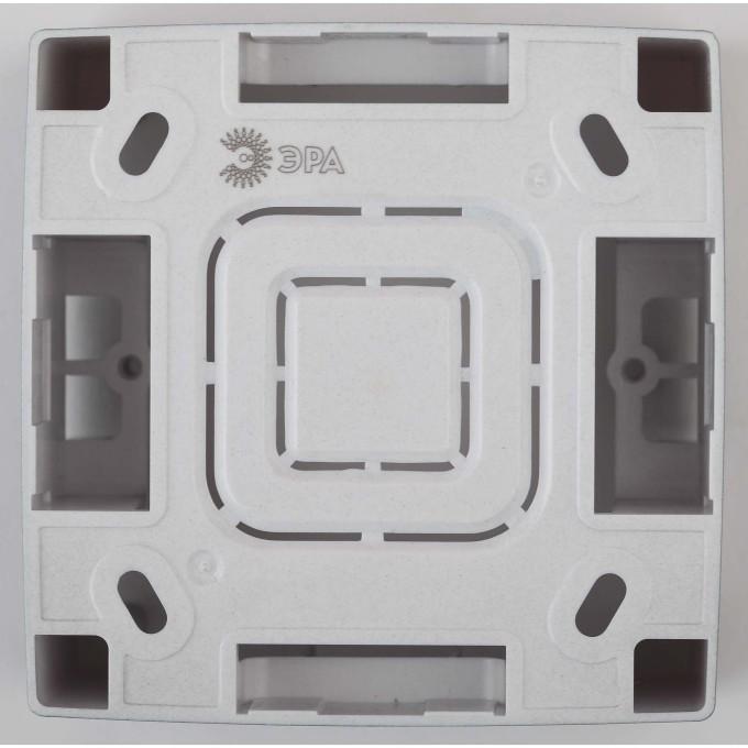 Коробка накладного монтажа Эра 12 1 пост бронза