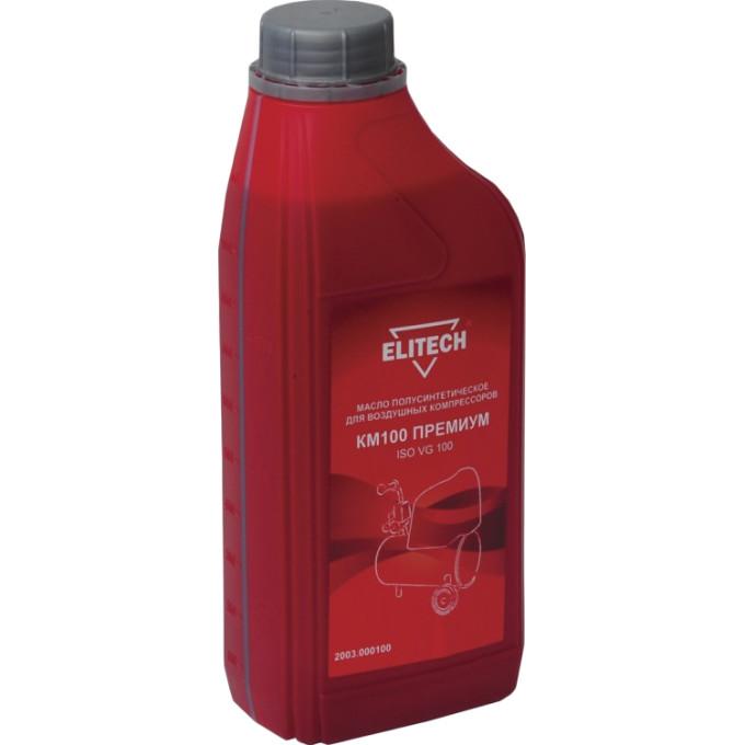 Масло для компрессоров Elitech КМ100 полусинтетическое 1 л 2003.0001