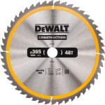 Диск пильный Dewalt Construction по дереву с гвоздями 305x30x48 мм DT1959-QZ
