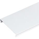 Потолок реечный S-дизайн A150AS эконом 150х4000 мм белый матовый