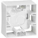 Коробка накладного монтажа Legrand Etika 1 пост белая 672510