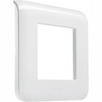 Рамка Legrand Программа Mosaic 2 модуля белая 078802