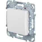 Выключатель одноклавишный в рамку Schneider Electric Unica белый MGU5.201.18ZD