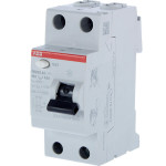 УЗО выключатель дифференциального тока АВВ F202AC 2 модуля 63А 300мА