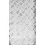 Лист рифленый алюминий АМг2 1.5х300х1200 мм