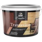 Штукатурка декоративная Dufa Creative Travertino эффект камня травертина и лофт-бетона 15 кг