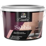 Штукатурка декоративная Dufa Creative Sabbia с эффектом песчаных вихрей 1 кг