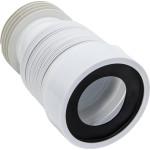 Труба для унитаза гофрированная VIRPlast D 110 L 200-350 мм 70984968