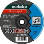 Круг отрезной по металлу Metabo Novorapid 230x22.23x1.9 мм 616509000
