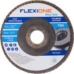 Круг лепестковый плоский Flexione 125х22.23 мм Р80 10000645