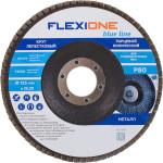 Круг лепестковый конический Flexione 125х22.23 мм Р80 10000508