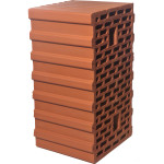 Блок керамический Braer Ceramic Thermo 12.4NF М100/125 440x250x219 мм коричневый