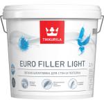 Шпатлевка легкая Tikkurila Euro Filler Light KTA белая 2.7 л