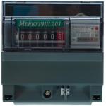 Электросчетчик однофазный однотарифный Инкотекс Меркурий 201.5 5-60 А 230 V
