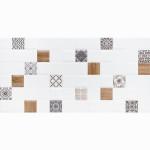 Декор настенный LB-Ceramics Астрид 1 20x40 см белый