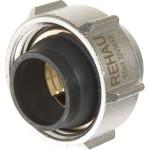 """Евроконус для присоединения стальных труб Rehau d 15 мм х 3/4"""" внутренняя резьба"""