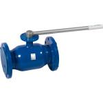 Кран шаровой Temper 28320150 стандартнопроходной с фланцем для установки привода DN150 PN16 125 мм