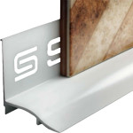 Профиль для ванн SALAG под плитку белый 1.85 м