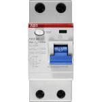 УЗО выключатель дифференциального тока АВВ F202AC 2 модуля 63А 30мА