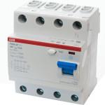 УЗО выключатель дифференциального тока F204 AC 4 модуля 40А 300мА