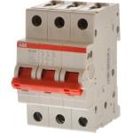 Рубильник 3-полюсный модульный ABB SD203/25 25A