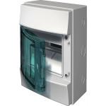Бокс настенный ABB Mistral65 1SL1200A00 4М прозрачная дверь без клемм