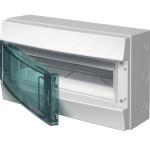 Бокс настенный ABB Mistral65 1SLM006502A1203 18М прозрачная дверь с клеммами