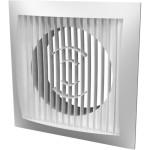 Решетка ERA 1515РС10Ф вентиляционная приточно-вытяжная 150x150 мм с фланцем