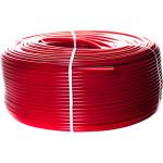 Труба PEX-a Stout из сшитого полиэтилена с кислородным слоем 20х2 мм 1 м красная SPX-0002-002020