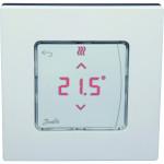 Сенсорный комнатный термостат Danfoss Icon встраиваемый 24 В белый