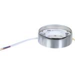 Светильник точечный накладной Uniel GX53 IP20 8.2 см хром
